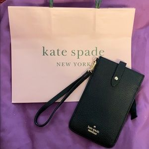 """kate spade ♠️ Phone """"Pull Out"""" Case"""